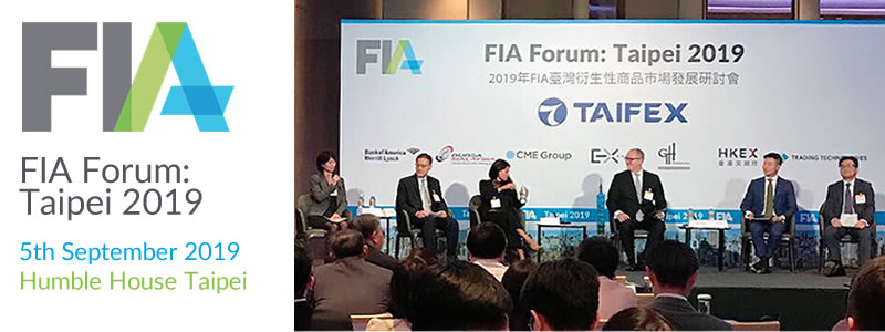G. H. Financials supported and participated in the FIA Forum: Taipei 2019